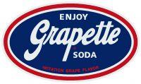"""Enjoy Grapette Soda - 10.5"""" x 18"""""""