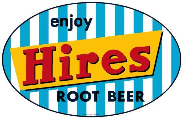 HIRES:HIR-001-Enjoy Hires Root Beer Decal