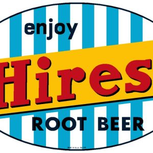 HIRES:HIR-001-Enjoy Hires Root Beer Decal