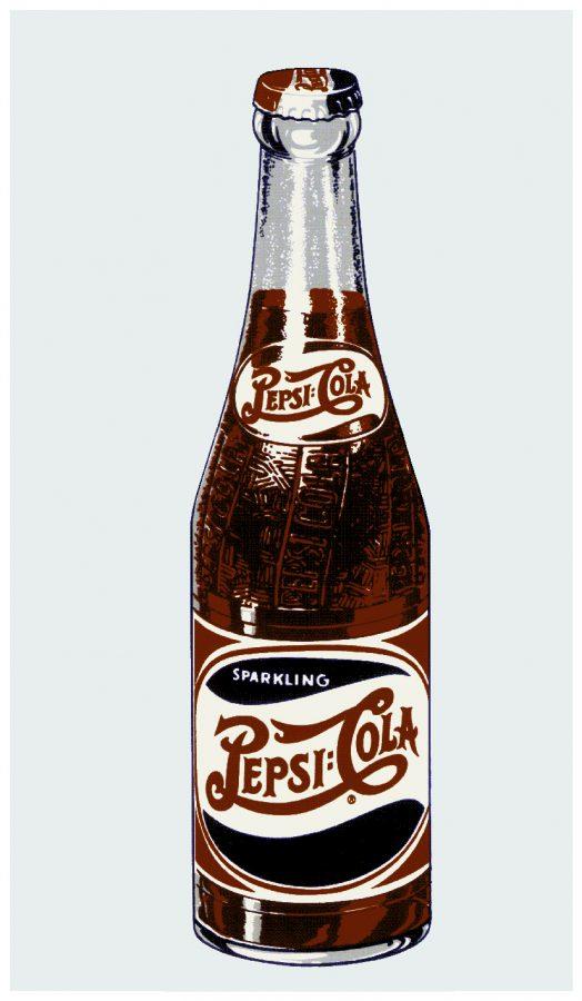 PEPSI:PEP-002-Pepsi Cola Bottle Decal