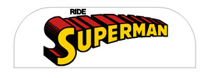Ride Superman Decal