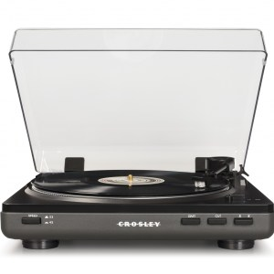 Gray Crosley T400 Turntable - T400A-GY