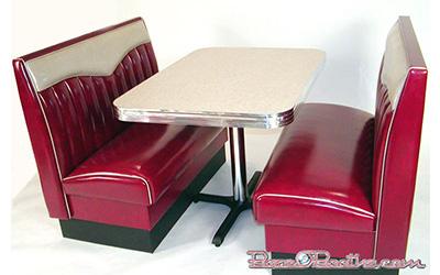 Big Bopper Diner Booth Set