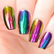 rainbow chrome powder. - online