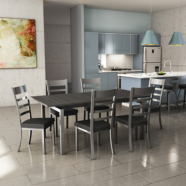 chair and matching stool anti gravity outdoor lounge chairs mixing bar stools in your kitchen barstool this photo owen dining the times