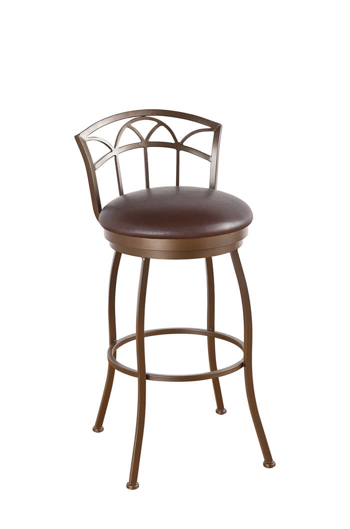 french country dining chairs with arms ergonomic chair tips callee fairview / frolic swivel stool low back - free shipping!