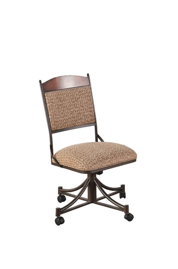 Buy Callees Madena Tuscan Tilt Swivel Dining Chair  Free