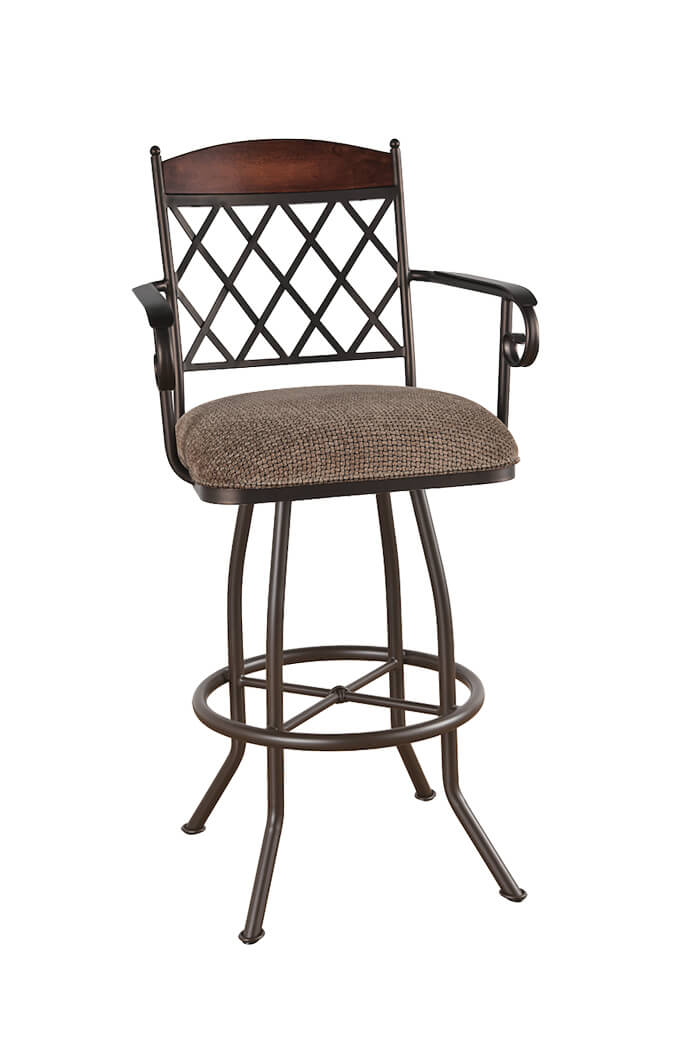 Callee Madison Swivel Stool for Tuscan Style Kitchens