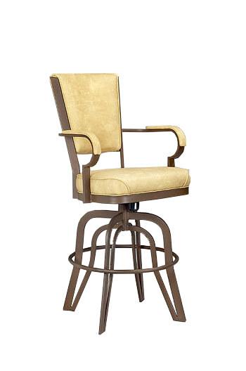 Lisa Furniture 2545 Rocking Swivel Bar Stool  Free Shipping