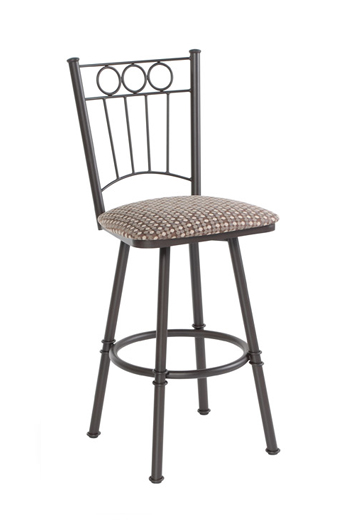 Trica Charles Traditional Swivel Stool for Breakfast Bars