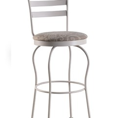 Kitchen Counter Stools With Backs Mats Costco Trica's Latte Swivel Or Bar Stool For Cottage ...