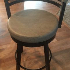 Swivel Bar Chairs Quiet Chair Amisco Ronny Stool - Free Shipping! • Barstool Comforts