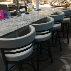 Height Of Bar Stools For Kitchen Counter Countertop Options Amisco Ronny Swivel Stool - Free Shipping! • Barstool Comforts