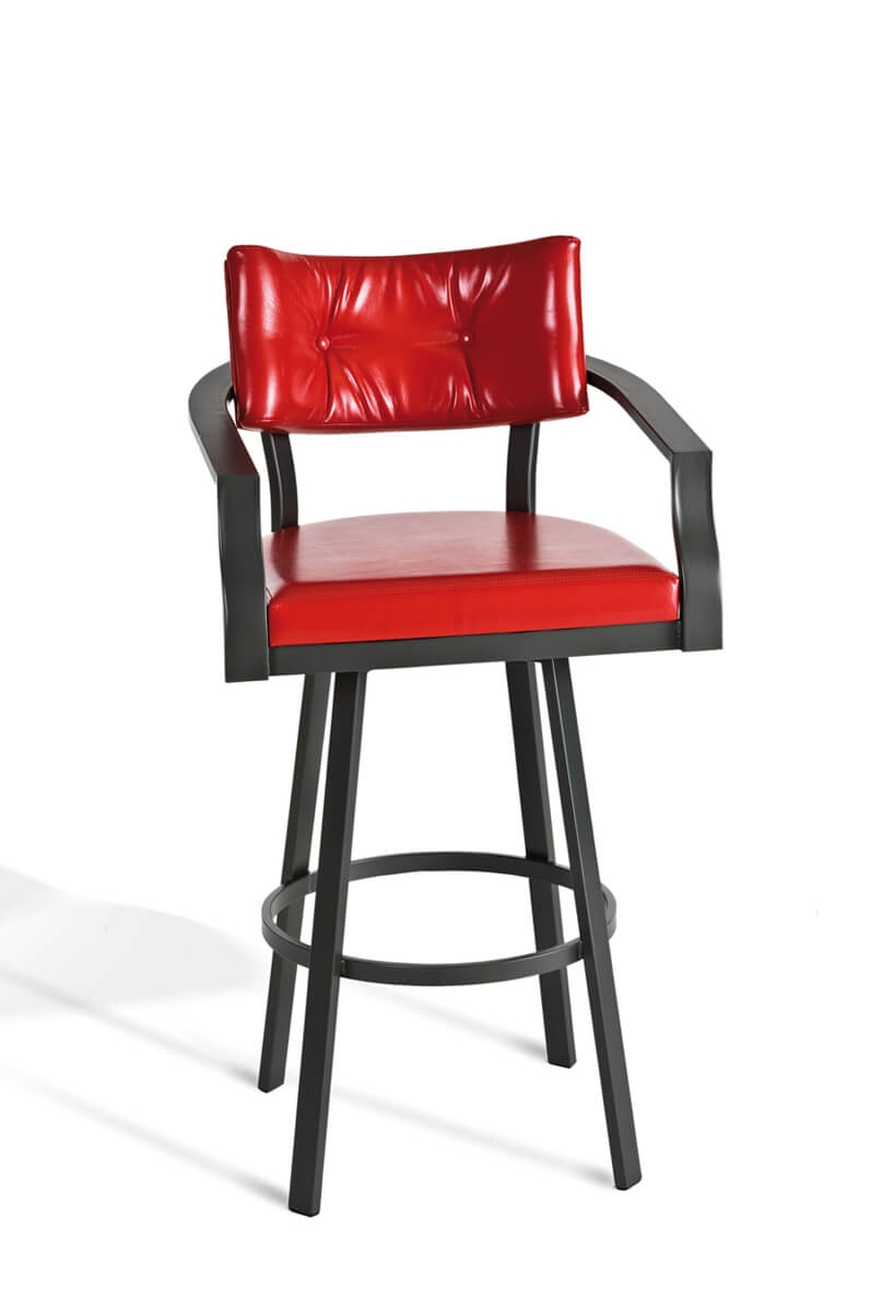 Counter Height Chairs With Arms Jonas Swivel Stool