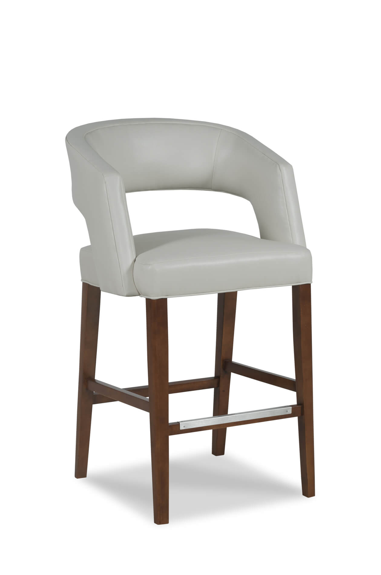 Wood Bar Chairs Bryant Wooden Stool With Arms