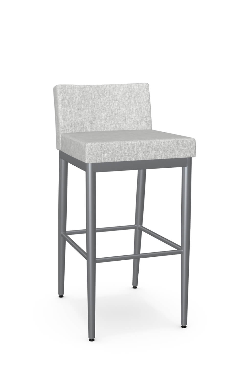 Amisco Hanson Minimal Modern Stool With Low Back Free Shipping