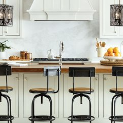 Kitchen Island Stool Hoods Makeover Time W These Bar Stools For Ideas In The Photo Collins Chair By Essential Home Amy Chandelier Delightfull