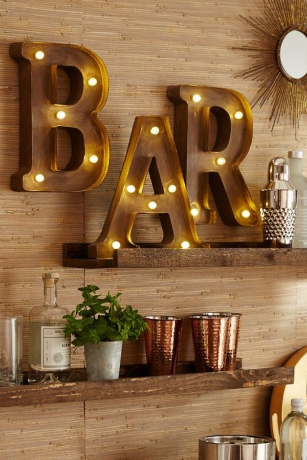 Bar Wall Decor Ideas Stools Furniture