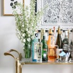 How To Style Your Bar Cart In 6 Easy Steps Bar Stools Furniture