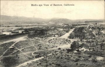 Bird's eye from Bee Hill 1920's