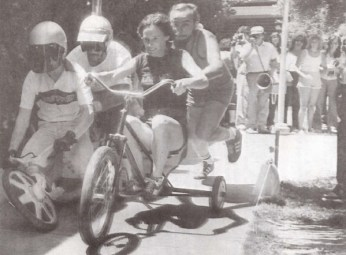 1981 Tricycle Race!
