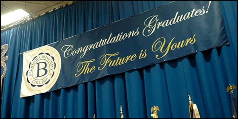 Barstow CC Graduation
