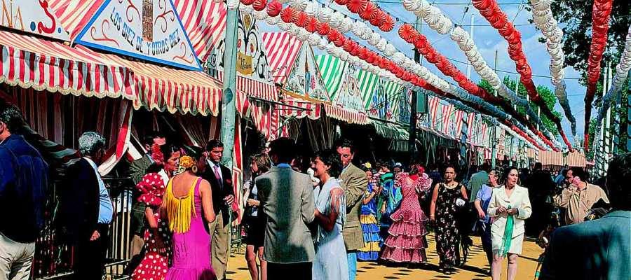Visitar la Feria de Abril en Sevilla