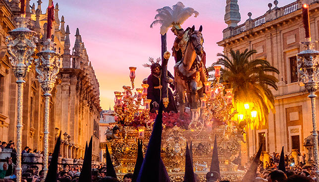 easter guide in seville