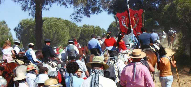 rocio pilgrimage seville