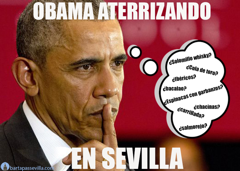 meme de obama en sevilla