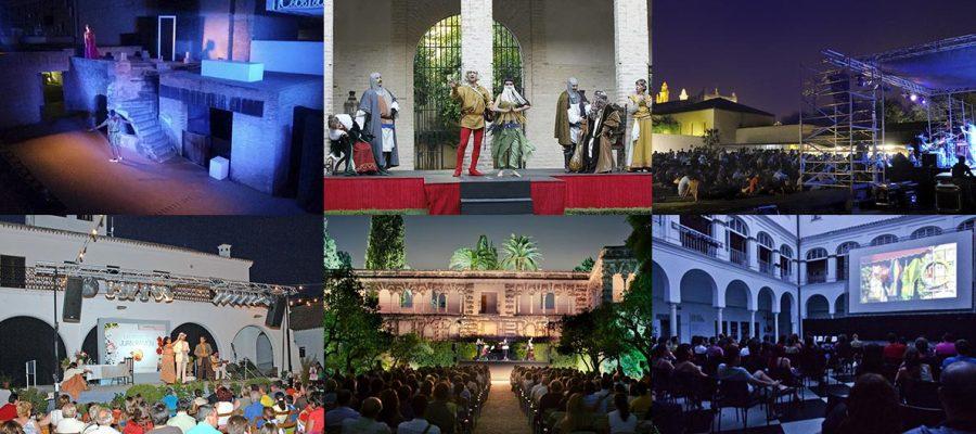 Cultura en Sevilla para noches de Verano al aire libre
