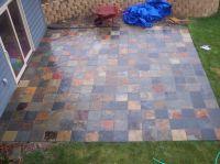slate tile patio | bartblog.