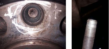 Crankshaft thread repair