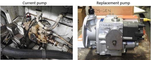 Cummins K50 Emergency Generator Pump