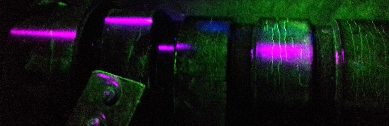 Iveco Camshaft under UV