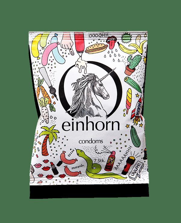 EINHORN<BR> CONDOMS<BR> BRAND - Duplicate