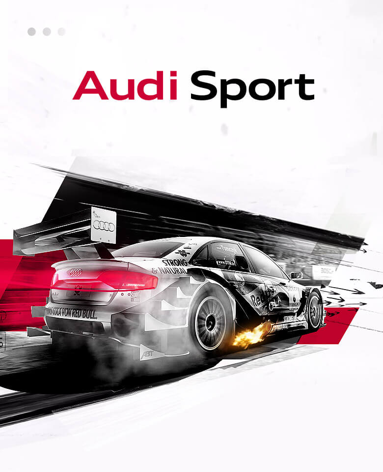 AUDI<BR> SPORT<BR> PLATFROM<BR>