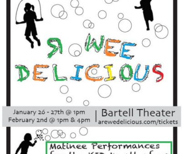 R Wee Delicious Poster