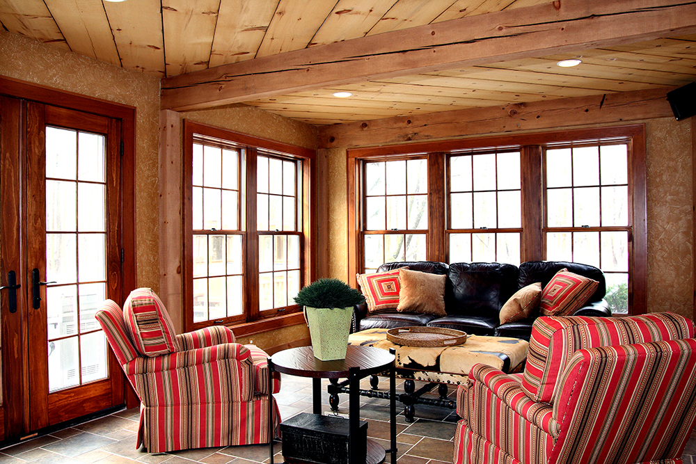 traditional living room design pictures burgundy set southeastern wisconsin sunrooms | bartelt. the remodeling ...