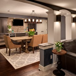 Lighting For Low Ceiling Living Room Decorate Modern Lower Level Remodeling | Bartelt. The Resource