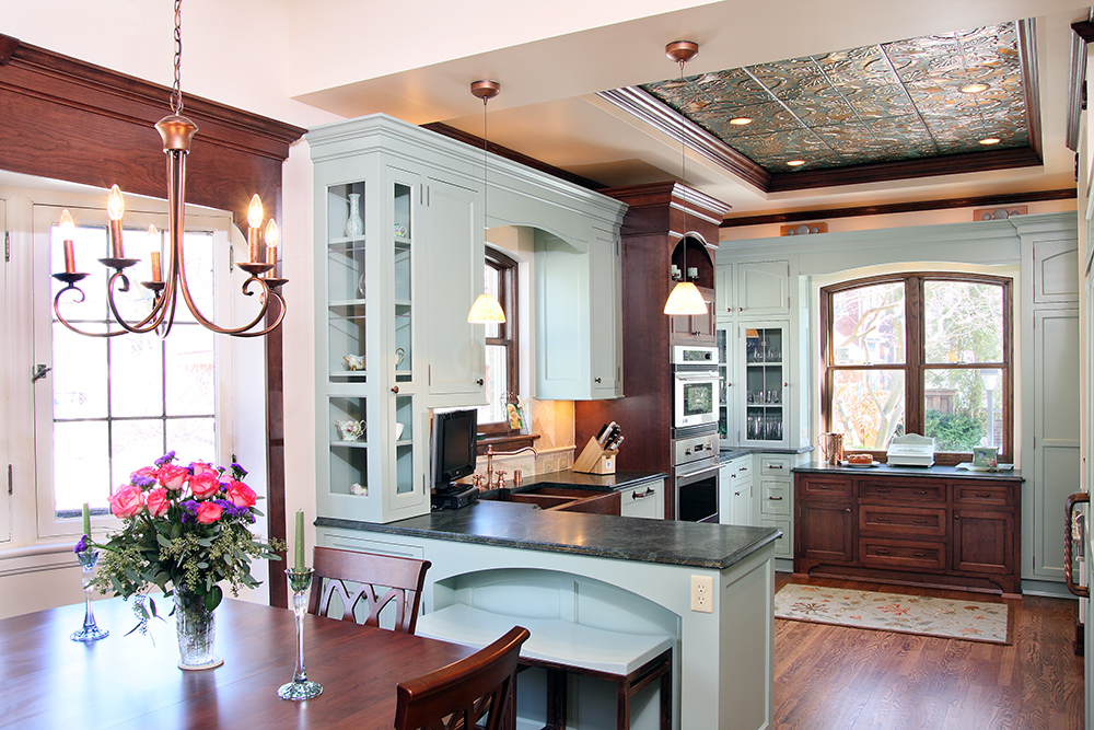 hickory kitchen island cabinet set calacatta marble archives - bartelt remodeling