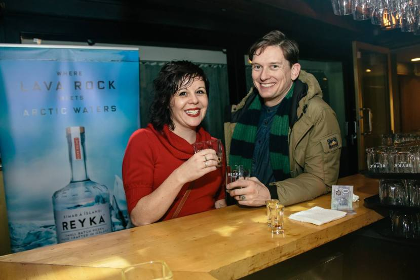 Reyka Vodka Winter Solstice Party at the Drake Hotel.