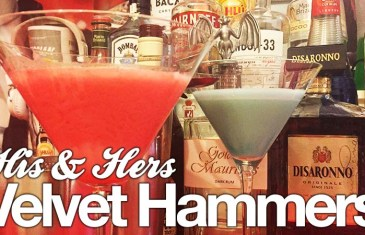 The perfect Valentines Cocktail – His & Hers Velvet Hammers