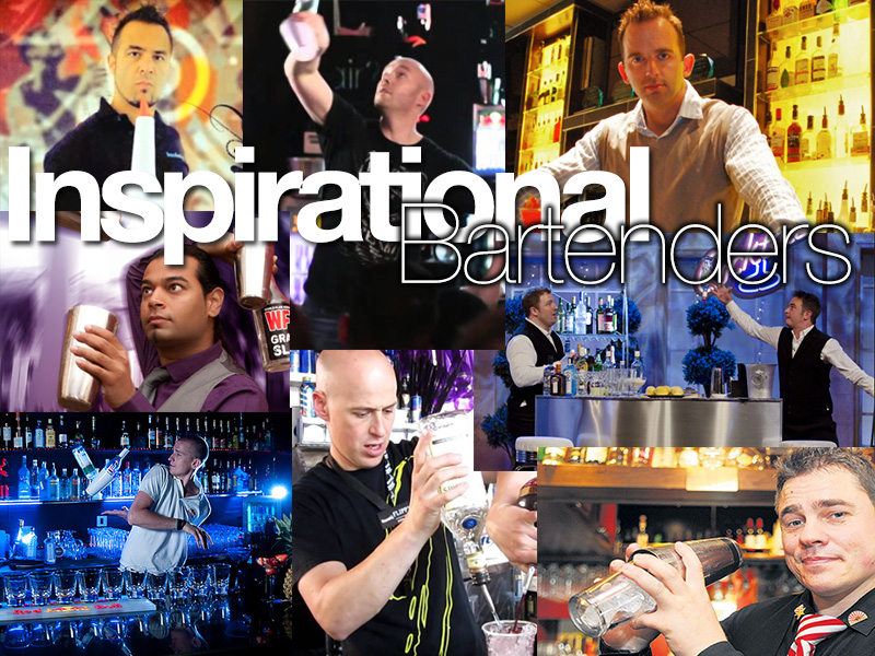 Top 9 Inspirational Flair Bartenders