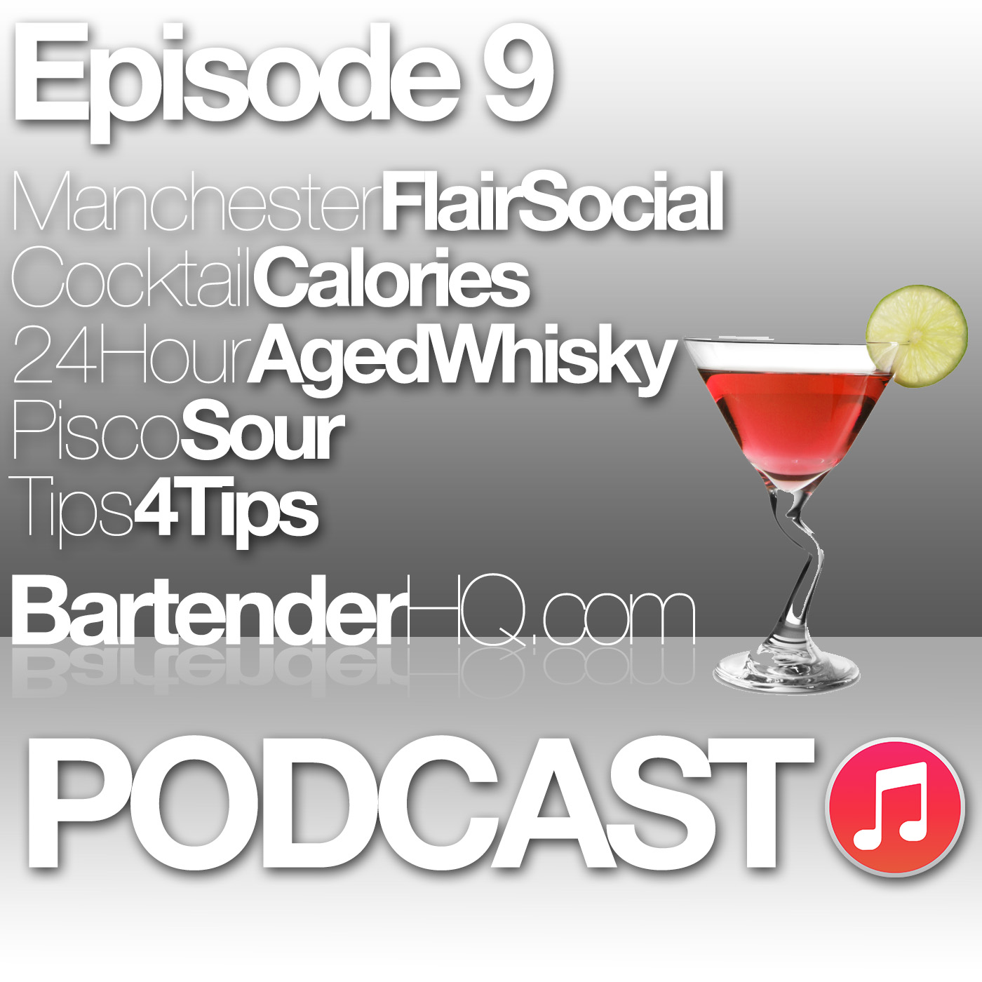 Podcast 9: Manchester Flair, 24 hour Aged Whiskey & Cocktail Masterclass