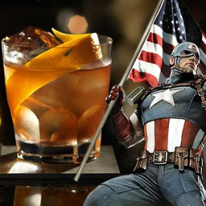 Captain America Old Fashioned