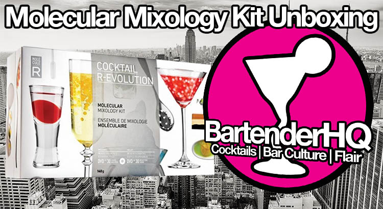 Molecular Mixology Kit: Cocktail R Evolution Unboxing