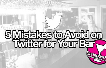 Twitter: 5 Mistakes to Avoid for Your Bar (Guest Post)