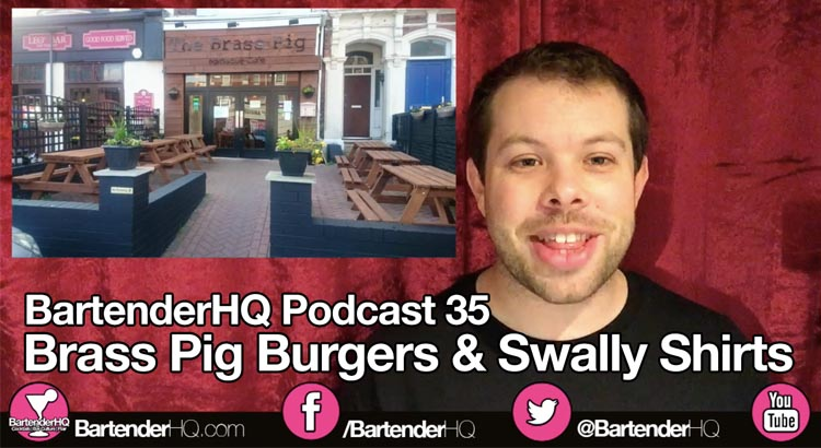 Brass Pig Burgers & Swally Shirts – Podcast 35