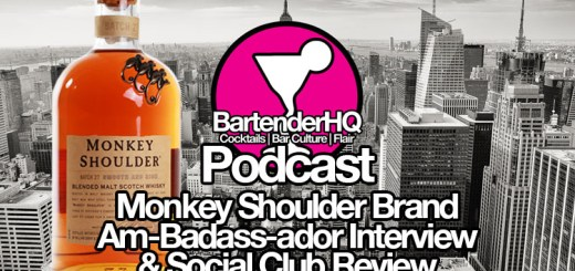 Monkey Shoulder Brand Am-badass-ador